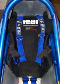 REAL race seat insert - Jet Reaction 2 wheel land speed record challenger